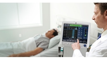 CARESCAPE™ R860 Critical Care Ventilator